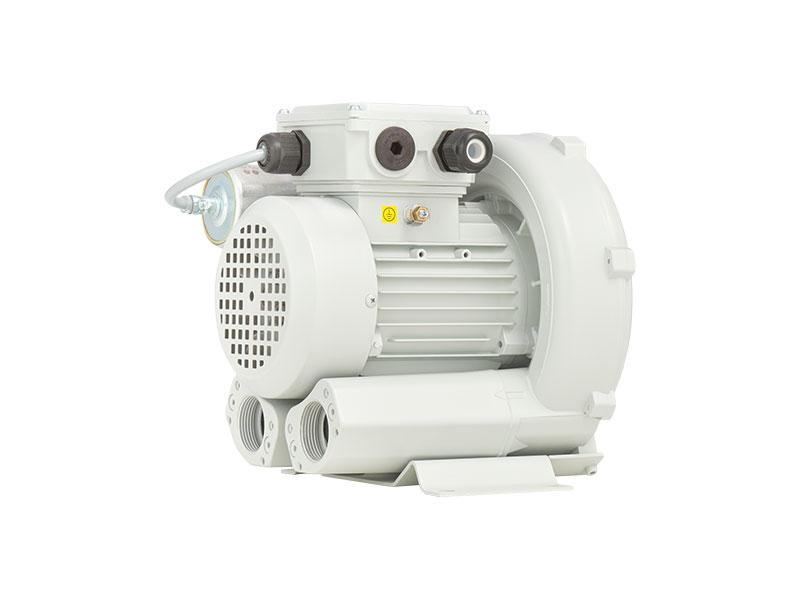 Vacuum Blower Data Sheet : Dutair atex side channel blower gas booster