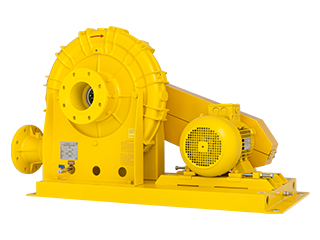 ATEX Cat. 2G Centrifugal gas booster
