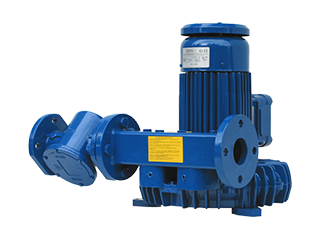 ATEX Cat. 2D Gas blower with compact by-pass and filter